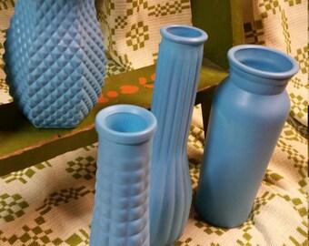 Robin's Egg Blue vases