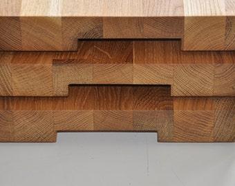 solid oak cutting board Board 055