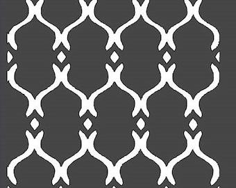 Moroccan Trellis Stencil - 12 x 12