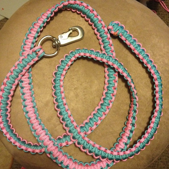 Handmade paracord horse leads horse tack by sabusleashes for Paracord horse bridle