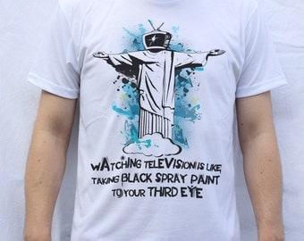 Bill Hicks - TV T Shirt Design
