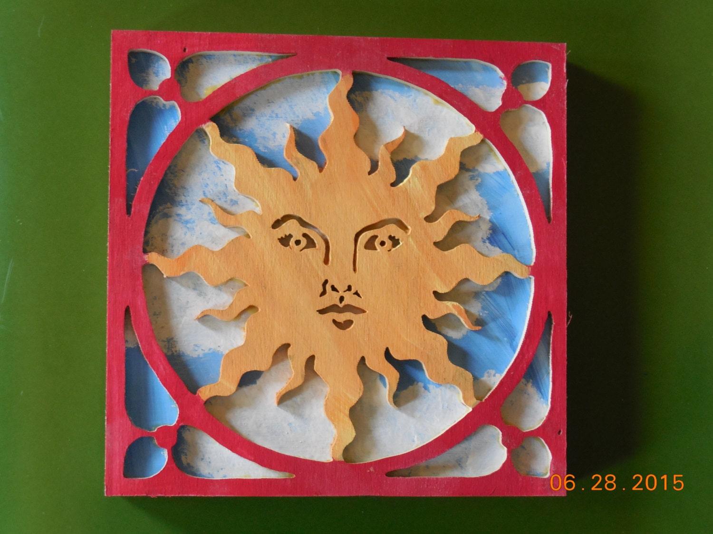 sun wall hanging wall hanging home decor celestial wall