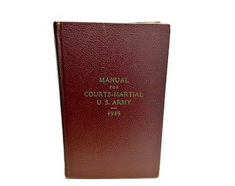 A manual for courts-martial : Philippine Army (Book, 1939 ...