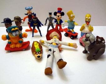 Lot of Miniature Figures