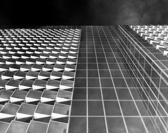 "Infra Red Skyscraper - 16"" x 12"" Photographic Print"