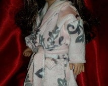 """Pink House Robe for 18"""" doll"""