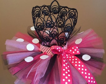 Minnie Mouse Tutu! Pink Tutu! Birthday Tutu