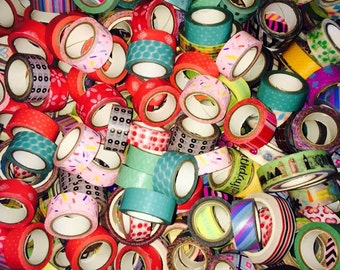 5 Rolls of Washi Tape Grab Bag