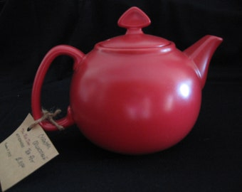 Vintage Red Chantal Tea Kettle