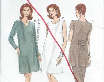 Vogue maternity separates sewing pattern 9226 dress tunic pants S6 10