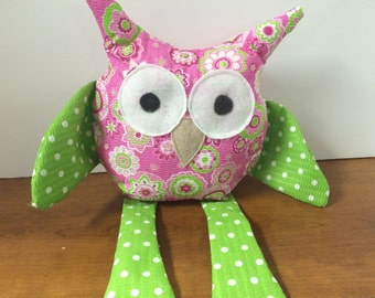 FREE SHIPPING and 10% OFF! Stuffed Soft Owl