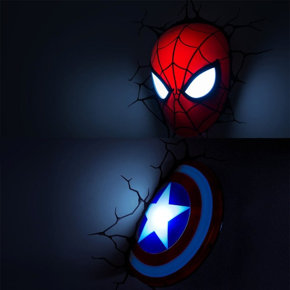Marvel Avengers Age of Ultron 3D Deco Night Lamp by DiDinding