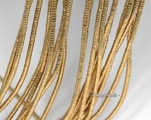 2x1mm Gold Hematite Gemstone Heishi Rondelle Slice 2x1mm Loose Beads 16 inch Full Strand BULK LOT 1,2,6,12 and 50  (90185681-838)