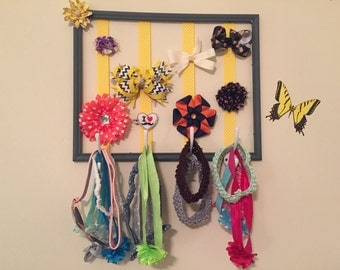 Picture Frame Bow Holder