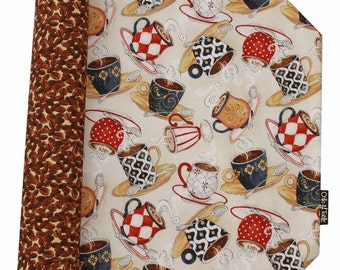 "Reversible place mats ""I love coffee"" by Collection."