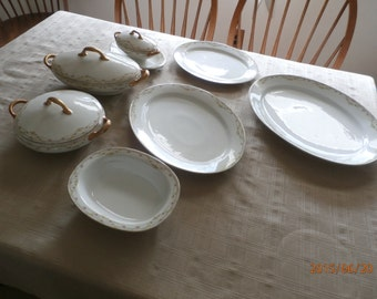Limoge  Vintage China Serving Set