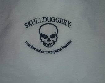 Skullduggery tshirt