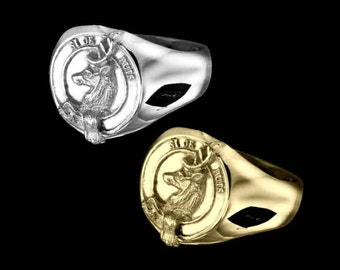 Clan Colquhoun Crest Men's Signet Ring