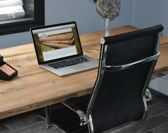 Reclaimed Wood Desk, Reclaimed Wood