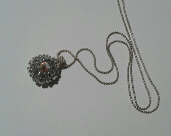 "Necklace ""balls of light"""