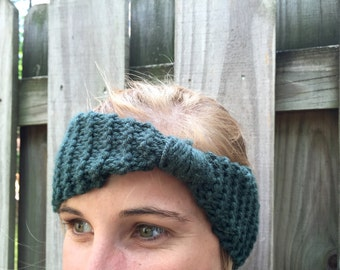 Knotted Handknit Headband