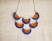 western jewelry / tribal jewelry / fashion accessories / bib necklace / indian jewelry / indianerschmuck