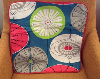 One of a kind retro cushion cover!