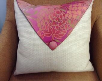 Tropical throw pillow!