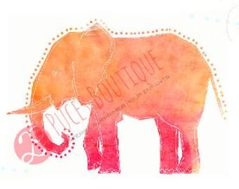 Lili The Elephant (pink)