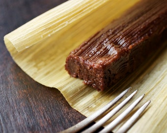 Mexican Chocolate Tamales (1 dozen)