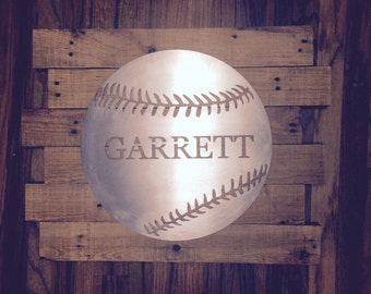 Custom Baseball or Softball with Name / Number / Team Name