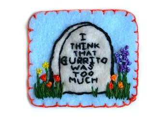 Death By Burrito Patch