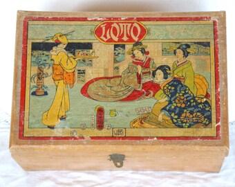 Vintage French Lotto Game//Lotto//Bingo//