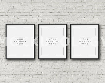 Triple Frame Etsy