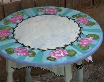 Custom Hand-painted Furniture