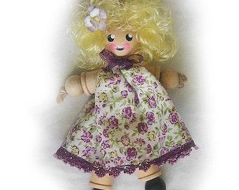 Cotton Reel Doll, Bobbin, Spool Doll
