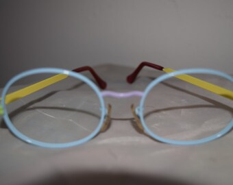 Peter Max/Tura Vintage 1970s Wire Rim Frames