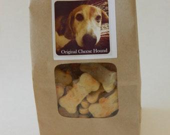 Original Cheese Hound - wheat free hand cut dog cookies