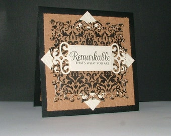 Handcrafted Greeting Card