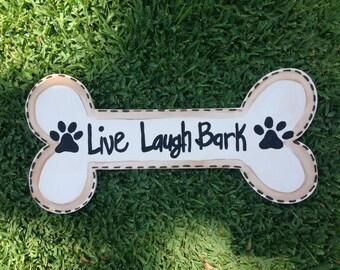 Dog Bone Door Hanger - Door Hanger - Pet Lover - Dog Lover - Dog Decor - Home Decor - Pet Lover Gift