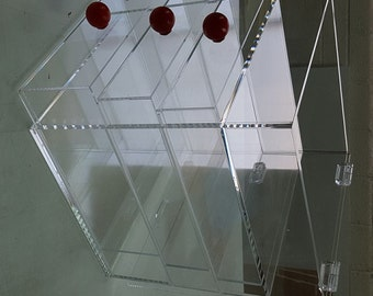 4 Drawers Acrylic Cosmetic Make Up Case *(Custom Options Available)*