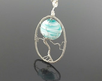 Winter Tree Necklace