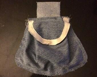 Blue Jean Belt Bag