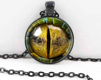 Dragon Eye - Handmade Pendant Necklace -