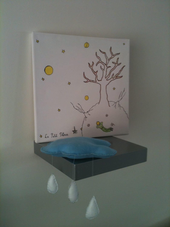 arbre empreintes le petit prince par stefebricole sur etsy. Black Bedroom Furniture Sets. Home Design Ideas
