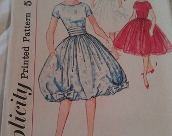 Simplicity Pattern No. 2771 Sub-Teens Size 12 s