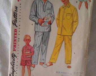 Simplicity Pattern No. 1434 size 4 Boy