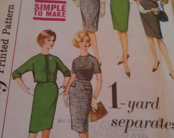 Simplicity Pattern No. 4621 size 12 miss