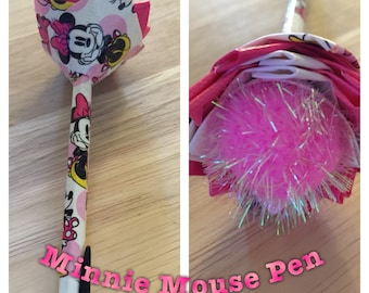 Minnie Mouse Duct Tape Pen