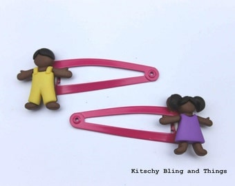 Cute Little People - Hair Clips